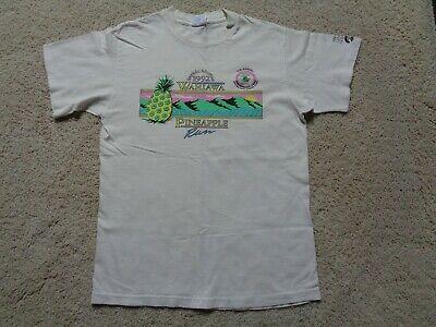 Vintage 90s WAHIAWA PINEAPPLE RUN 1992 HONOLULU ADVERTISER OAHU HAWAII T-shirt L