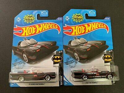 Hot Wheels TV Series Batmobile x2 1/64