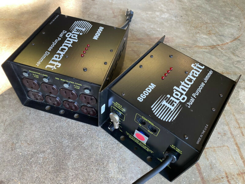LIGHTCRAFT 860DM (pair) of dimmer packs