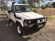 Toyota Land Cruiser 4.2l turbo East Tamworth Tamworth City Preview