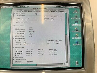 Apple iMac PC G3 Blueberry Computer Vtg 1998 Original Mac OS 1st gen? for sale  Shipping to South Africa