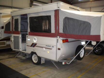 COROMAL MAGNUM 380 2000 12 FT CAMPER TRAILER Northfield Port Adelaide Area Preview
