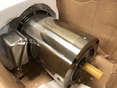 Leeson 191225.00 2hp Stainless Motor 3ph 60-50hz 1720rpm 208-230460v 56c