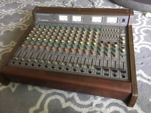 Vintage Audio Technica ATC1220 12 Channel Mixer Mixing Console