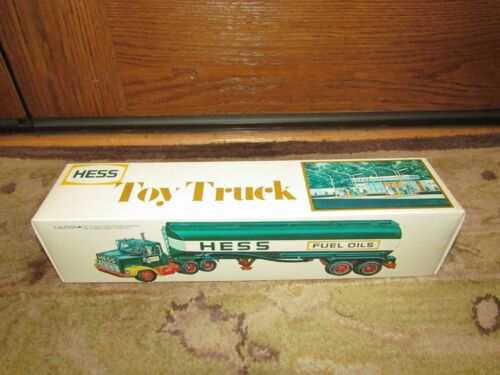 1977 Hess Toy Tanker Truck NEW in Box