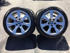 """17"""" OEM BMW rims and Winter Tires"""