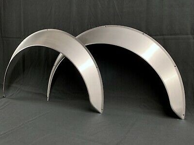 "Universal Metal Fender Flares Style 3: 3"" Wide, 2 total (hand-made)"