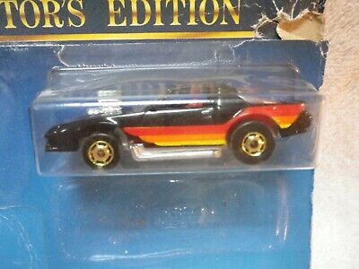 1988 Hot Wheels Anniversary Black Blown Camaro Z28 with Hot Ones NEW