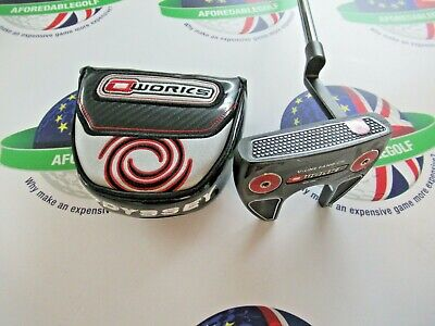 "ODYSSEY O WORKS V-LINE FANG CH 33"" PUTTER & HEAD COVER"