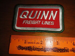 QUINN-FRIEGHT-LINES-TRUCKING-PETERBILT-FEIGHTLINER-GREEN-BOARDER-BX-P-2