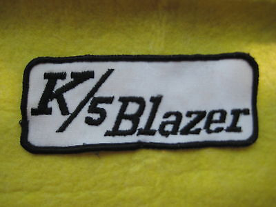 "Vintage Cheverolet K/5 Blazer trucks Dealer Uniform Patch 4 3/4 ""X 2""  for sale  Shipping to United Kingdom"