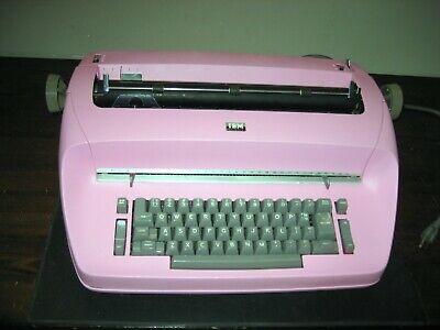 Refurbished Ibm Selectric I Typewriter - Rose Pink Custom Paint Wwarranty