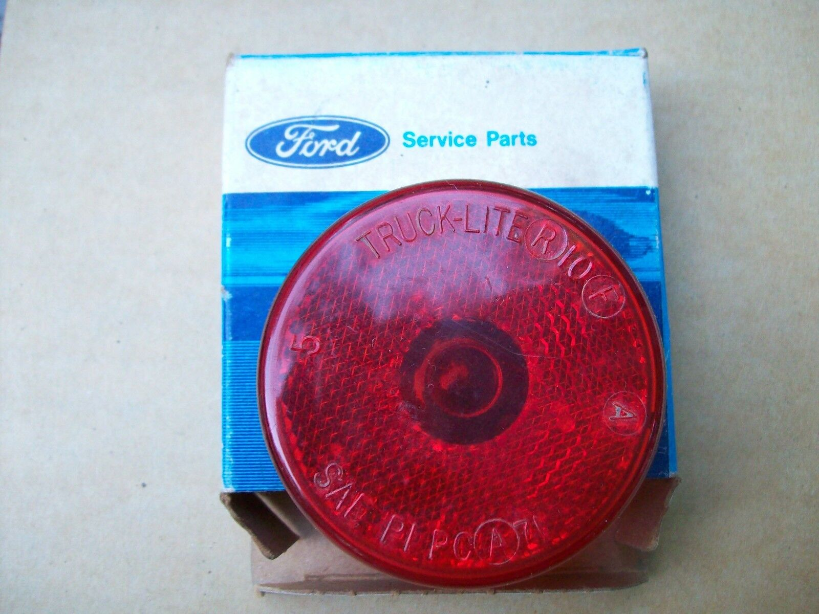 FORD 74 75 76 77 78 79 F350 TRUCK LENS SIDE MARKER LAMP RED 2 1/2""