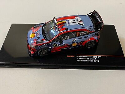 Hyundai i20 WRC Neuville Winner Corsica 2019 #11 Ixo RAM 711 1:43...