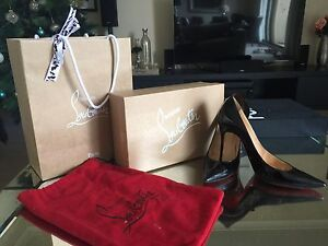 Authentic Christian Louboutin Black Stilettos Darling Point Eastern Suburbs Preview