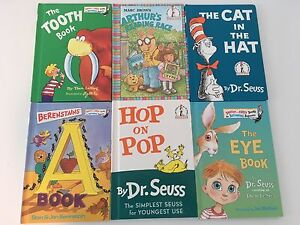 13 dr.Seuss books lot