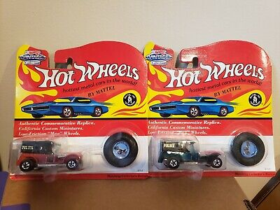 Hot Wheels Vintage Series Redlines Lot of 2 Paddy Wagons
