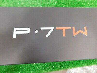 TaylorMade P7 TW Tiger Woods Irons 3-P DG X100 Extra Stiff Steel Tiger Specs New
