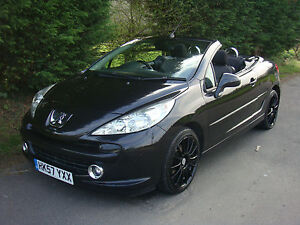 REPOSSESSION - PART EX 2008 PEUGEOT 207 CC GT 1.6 PETROL CONVERTIBLE - HARDTOP