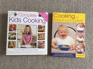 Cook books for kids and babies Amaroo Gungahlin Area Preview