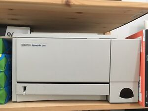 HP LaserJet 2100 Black and White laser printer