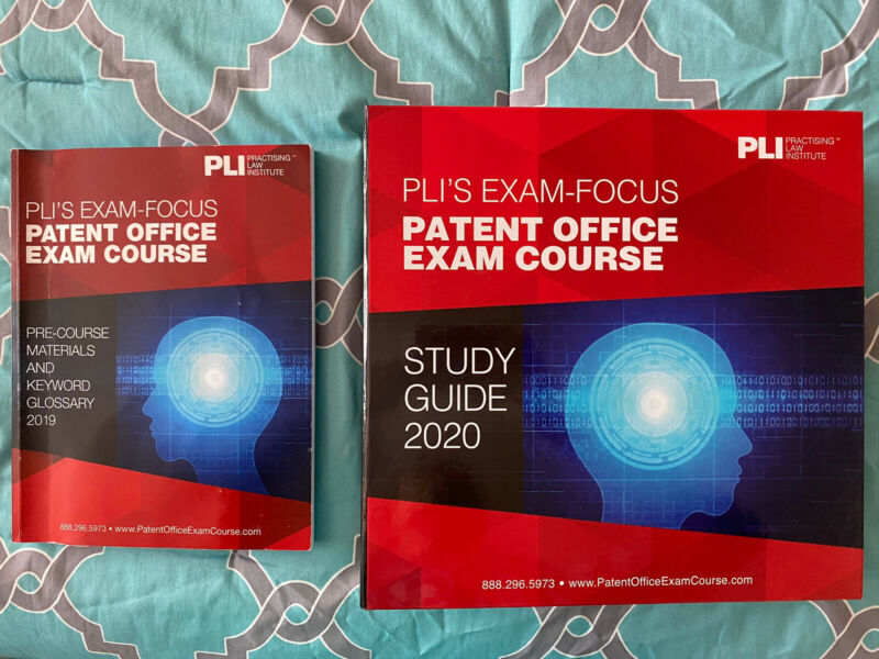 PLI Patent Bar 2020 Patent Office Exam Course Study Guide