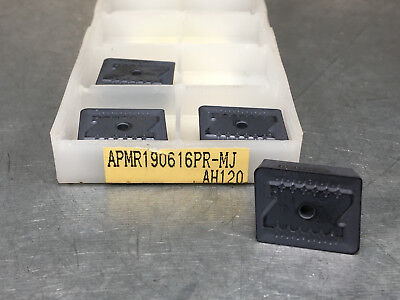 Tungaloy Apmr190616pr-mj Ah120 Carbide Inserts Plunging 4 Pcs