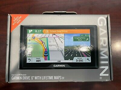 "Garmin Drive 6"" USA LM EX GPS Navigator *Brand New*"