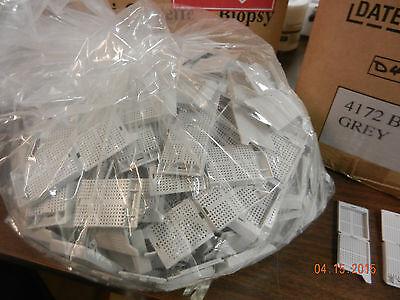 Biopsy Cassette Sakura Tissue-tek 4172 Grey Plastic 250 Pcs New