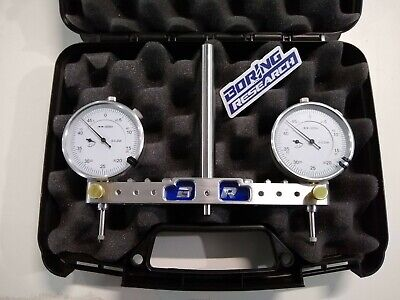 Adjustable Spindle Square Mill Router Tram Tool 3-6 .5 Shank Indicators Case