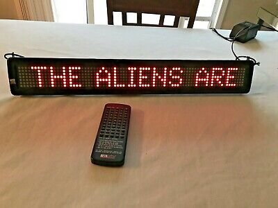 Adaptive Beta Brite Programmable Led Color 25 12 Display Sign 213c-1 Scrolling