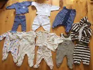Vêtements nouveau né 0-3 mois