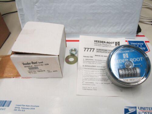 Veeder Root 0777716-539 Hubodometer Mile S#D12