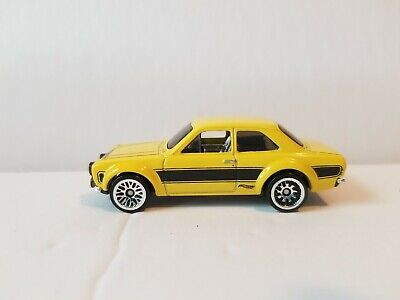 2017 Hot Wheels Multi Pack Exclusive '70 Ford Escort RS1600 yellow VHTF! Error