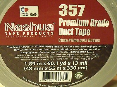Nashua 357 Premium Gray Duct Tape - 60 Yard Roll