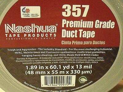 Nashua 357 Premium Gray Duct Tape - 60 Yard Roll