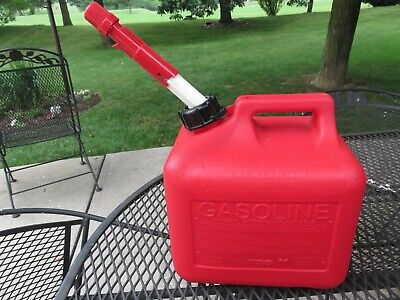 Tsg Midwest 2 Gal 8 Oz Gas Can Spring Loaded Vent Spout Cap Usa Euc