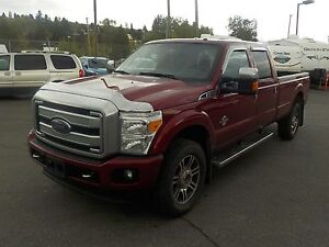 2015 Ford F-350 SD Platinum Crew Cab Long Bed 4WD Diesel