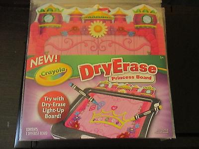 NEW Crayola Dry Erase Princess Board Use Alone or Works With Light-Up Board](Crayola Dry Erase Light Up Board)