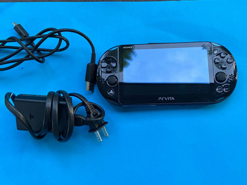 Sony PlayStation PS Vita Slim PCH-2001 Portable Video Game Console 3.73