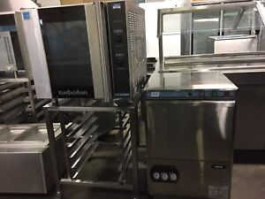 Turbo fan convection oven and Moyer Diebel high temp dishwasher