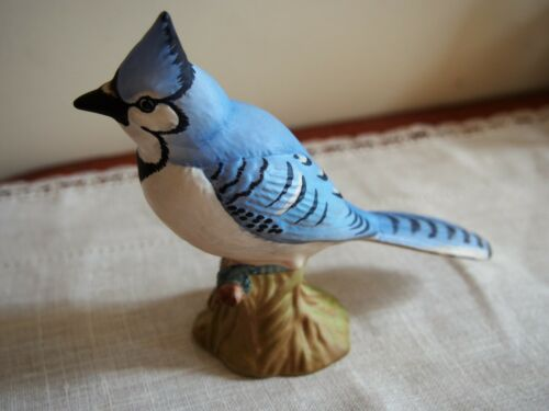 BESWICK BLUE JAY BIRD #2188 CREST STAMP *RARE COLLECTIBLE* VERY NICE! FREE SHIP!