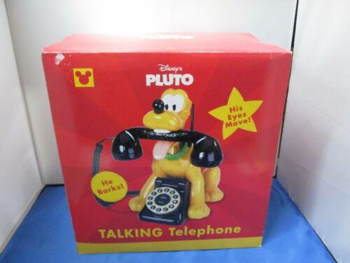 Vintage Disney Pluto Talking Animated Telephone NEW
