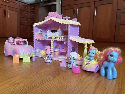 HASBRO MY LITTLE PONY 2008 - 2009 COLLECTION OF VARIOUS PLAYSETS