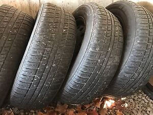 Sumer tires and rims P205/65R16