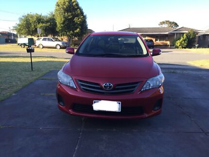 2010 toyota corolla sedan for sale