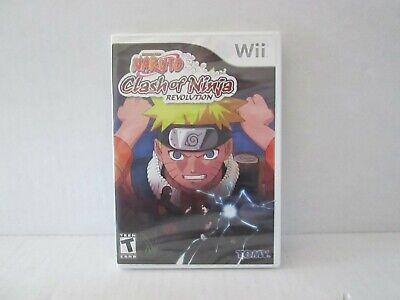 Naruto: Clash of Ninja Revolution (Nintendo Wii, 2007) NEW  comprar usado  Enviando para Brazil