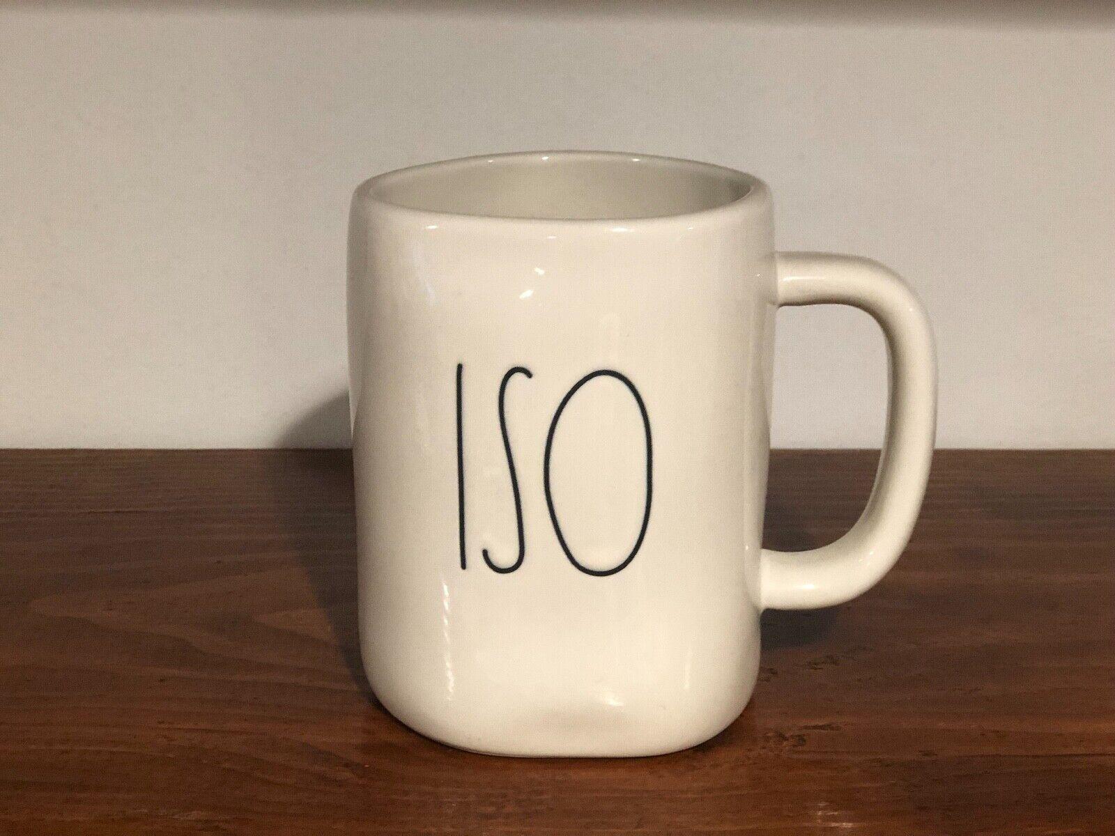 Rae Dunn Artisan Collection By Magenta Farmhouse LL Large Letter Coffee Tea Mug ISO