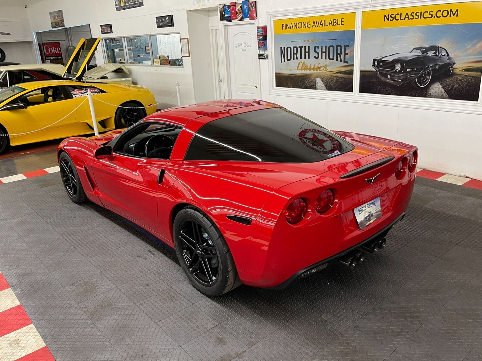 2007 Red Chevrolet Corvette   | C6 Corvette Photo 3
