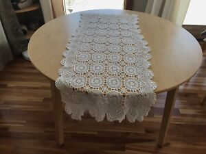 Antique Lace Dollie Large Table Runner White Gift